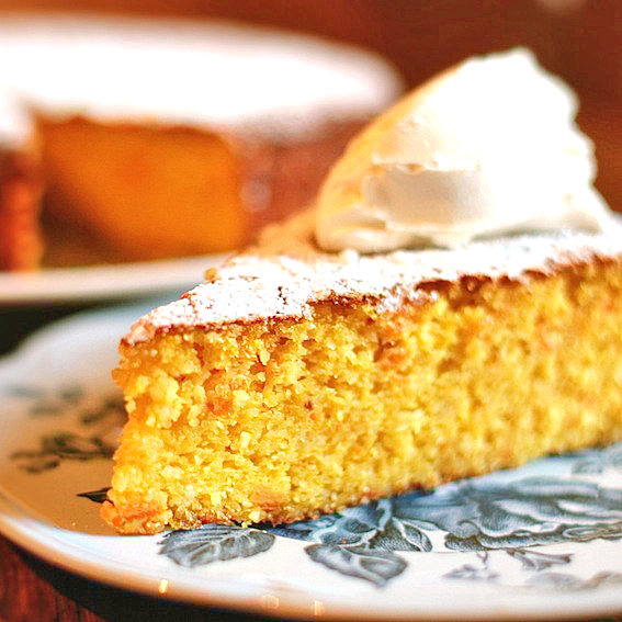 Guest post: Clementine and almond cake