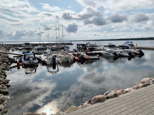 Harbour in countryside near Tallinn