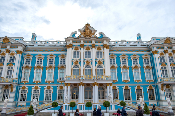 Catherine Palace, St Petersburg, Russia.